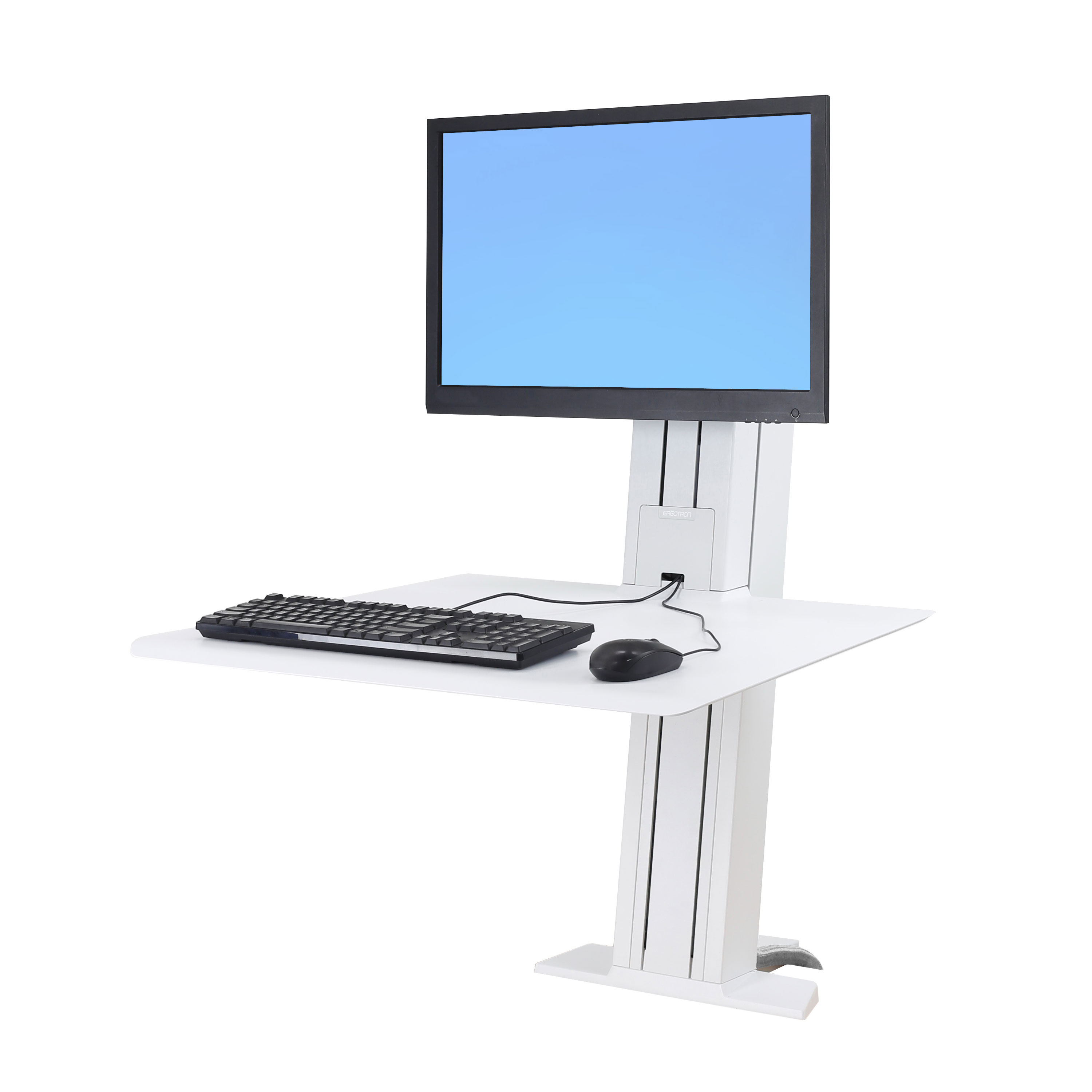 Workfit Sr Single Monitor White Dcp Solutions